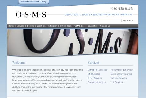 New Website for OSMS