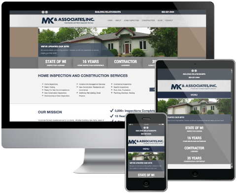 Green Bay Home Inspections Website | Website Design and IT Services ...